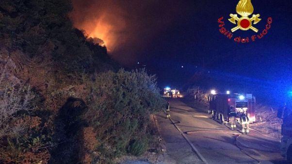 Incendi: mille gli evacuati in Gallura