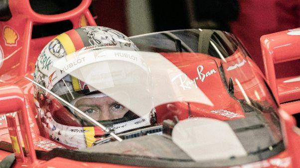 F1: Vettel primo pilota a testare scudo