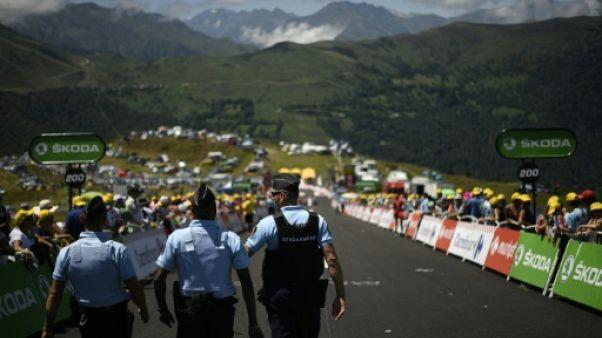 Cyclisme: interpellation en Arriège d'une personne pour pneus crevés sur le Tour