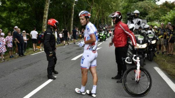 Tour de France: Vichot renonce dès les premiers kilomètres de la 13e étape