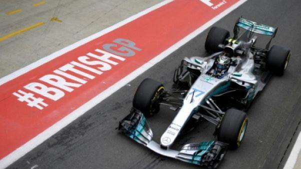 GP de Grande-Bretagne: Bottas et Hamilton les plus rapides de la 2e séance d'essais