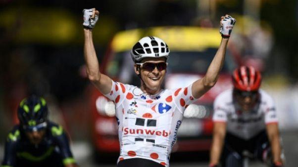 Tour de France: Barguil signe la 4e victoire française lors de la 13e étape
