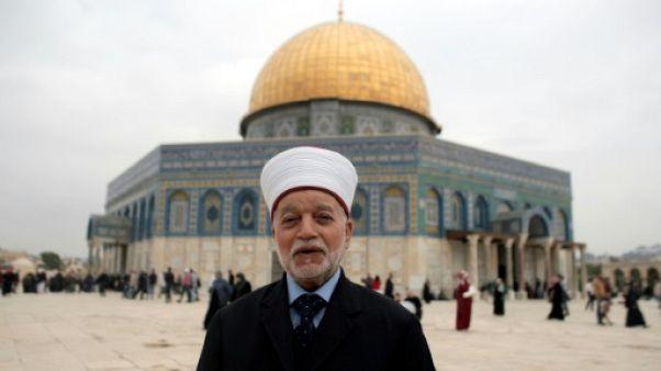 Le mufti de Jérusalem brièvement détenu par la police israélienne
