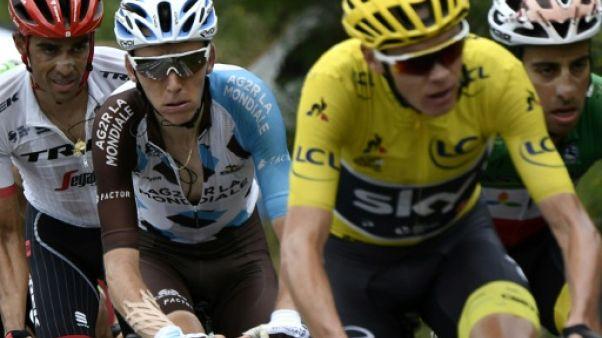 """Tour de France: Bardet regrette les """"calculs d'apothicaire"""""""