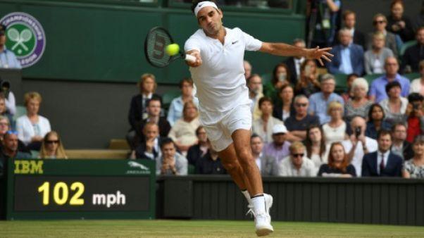 Wimbledon: Federer bat Berdych et décroche une 11e finale