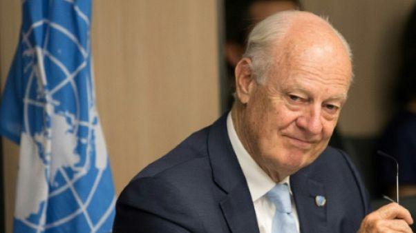 Pourparlers sur la Syrie: l'envoyé de l'ONU salue quelques progrès