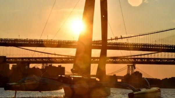 Traversée de l'Atlantique: Coville attendu dans la soirée pour un record en 4 jours