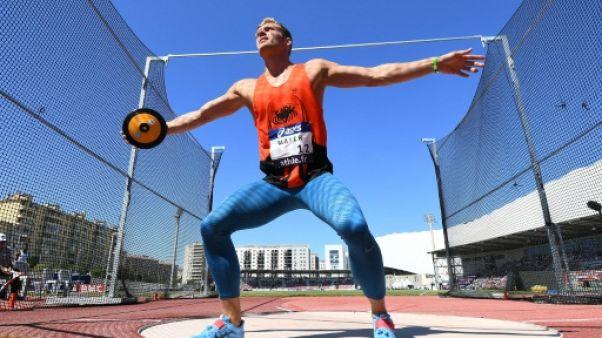 """Athlétisme: Kevin Mayer """"frustré"""" aux Championnats de France"""