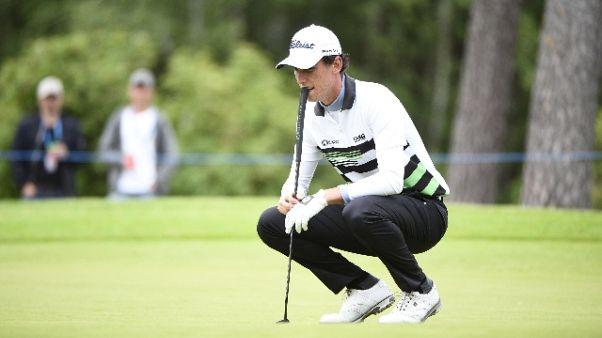 Golf: Scottish Open, crolla Paratore