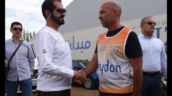 Ippica,premier Emirati a ippodromo Pisa