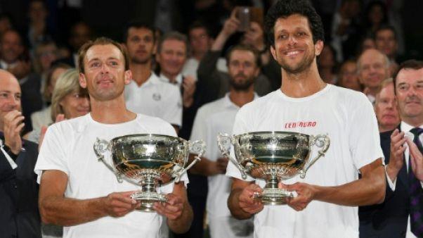 Wimbledon: Melo et Kubot remportent le double messieurs au terme d'un match épique