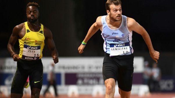 Athlétisme: Lemaitre fait le minimum aux Championnats de France, mais pas les minima