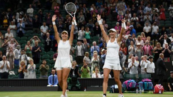 Wimbledon: les Russes Makarova et Vesnina remportent le double dames