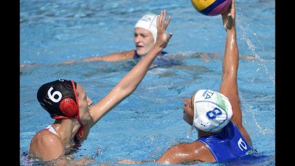 Nuoto: Mondiali, Setterosa esordio ok