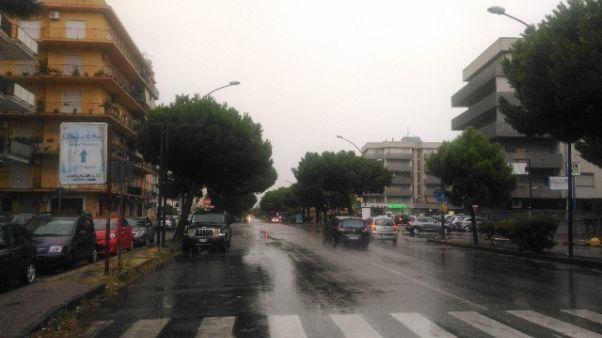 In Calabria dopo incendi arriva pioggia