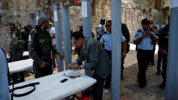 Israël rouvre l'esplanade des Mosquées à Jérusalem fermée après un attentat