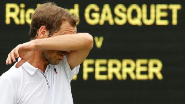 Tennis: Richard Gasquet forfait à Bastad