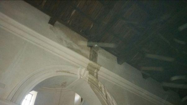 Fulmine danneggia chiesa nel reggino