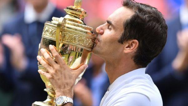 Wimbledon: Roger Federer maître en son royaume