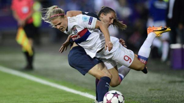 Euro: la rivalité OL-PSG, aucun impact en Bleues ?