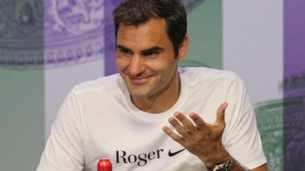 """Federer: """"Je crois que vous auriez rigolé"""""""