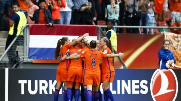 Euro: les Néerlandaises lancent leur tournoi