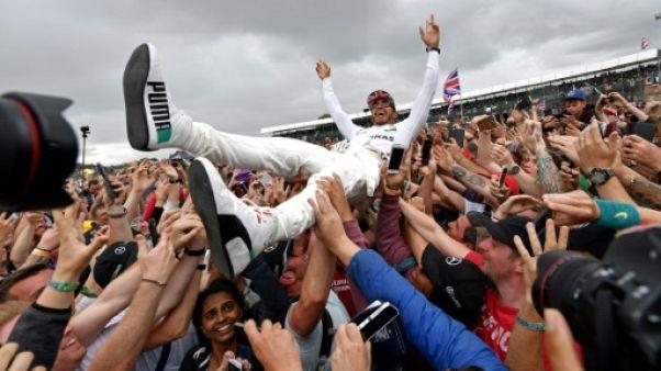 """F1: pour Hamilton, """"se rapprocher aussi près ici, c'est fantastique"""""""
