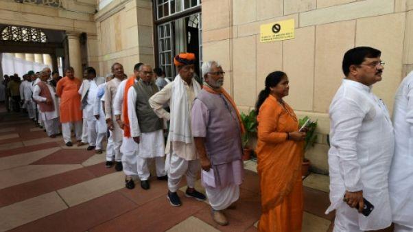 L'Inde vote pour élire un dalit à sa présidence