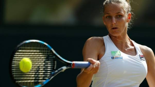 Tennis: Pliskova prend les rênes du classement WTA pour la 1ère fois