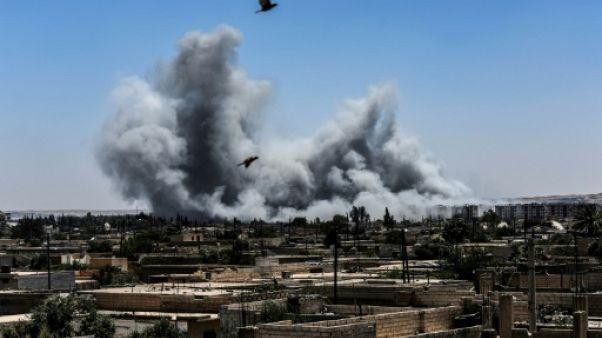 Des forces antijihadistes progressent face à l'EI à Raqa en Syrie