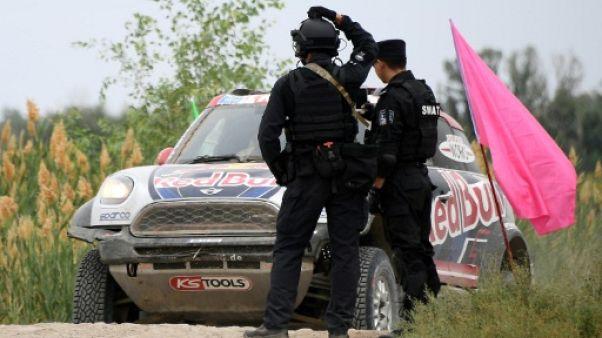 Silk Way: en Chine, le rallye sous haute sécurité face au risque d'attentat