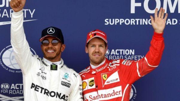 F1: Vettel/Hamilton, deux hommes, dix courses, et un point
