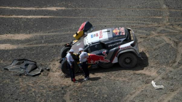 Rallye-raid Silk Way: Sébastien Loeb (Peugeot) perd tout espoir