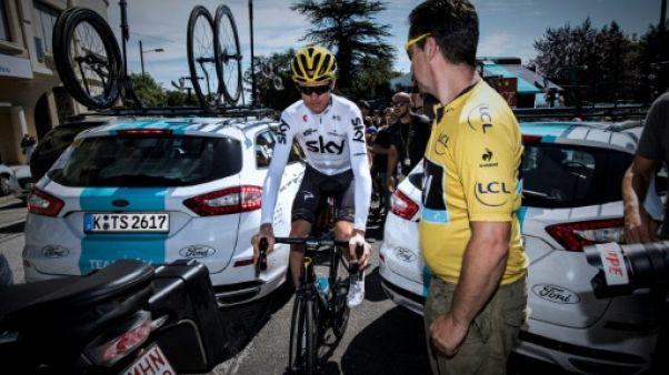 Tour de France: Froome pas serein avant la 3e semaine