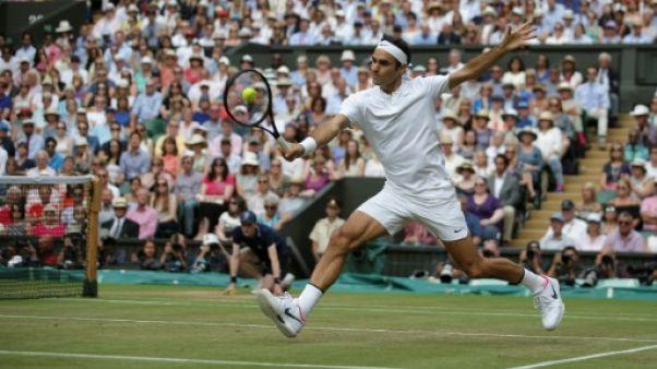 Wimbledon: le roi Federer et ses attributs
