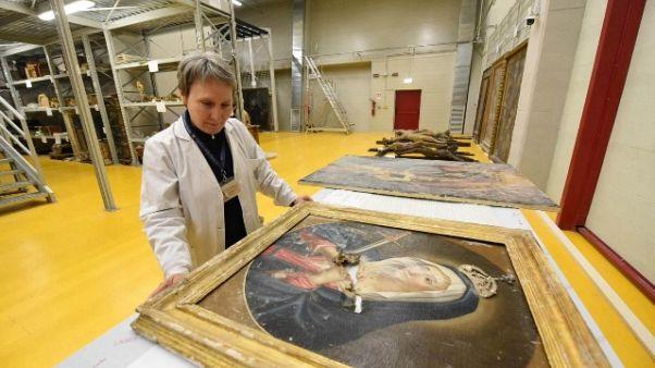Sisma, 6.000 opere in 'ricovero' Umbria