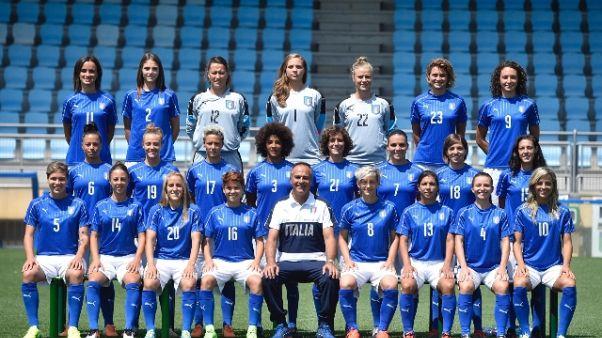 Europei donne: falsa partenza Italia