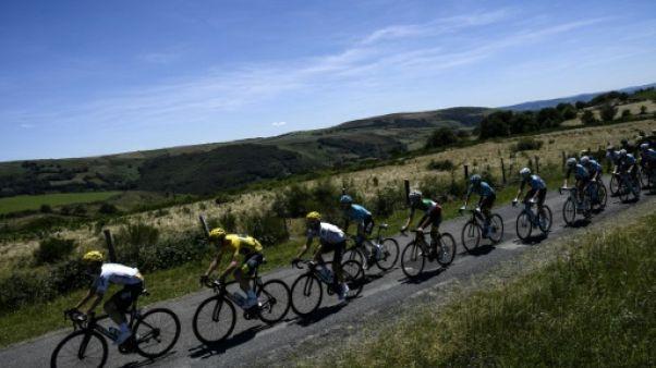 Tour de France: descente vers le Rhône, final favorable aux sprinteurs