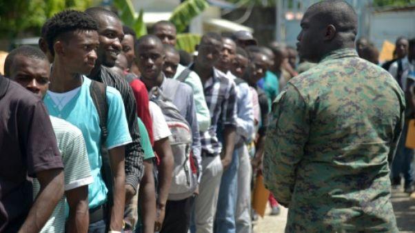 L'armée d'Haïti renaît plus de 20 ans après sa démobilisation