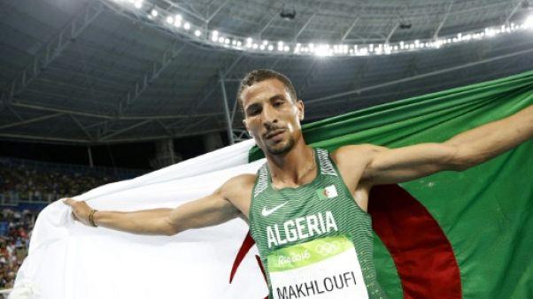 Athlétisme: l'Algérien Makhloufi forfait à Londres