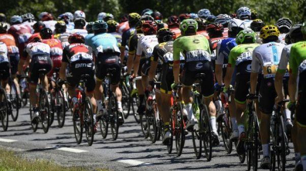 Tour de France: lancement de la 16e étape en vallée du Rhône