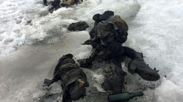 Suisse: un couple retrouvé momifié dans un glacier, 75 ans après sa disparition
