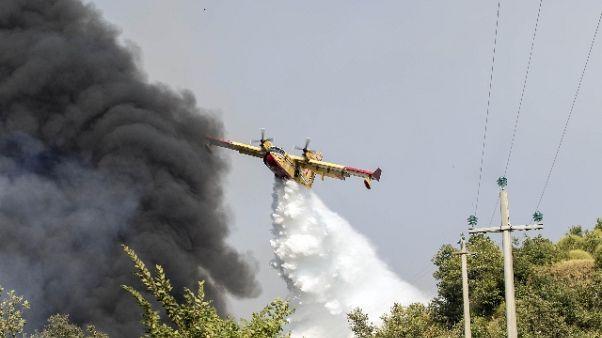 Incendi: Si, è emergenza nazionale