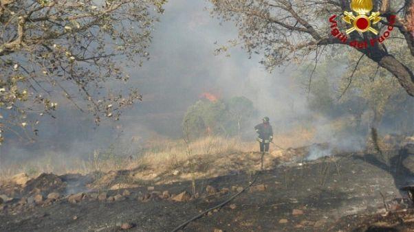 Alà dei Sardi, bruciati 2mila ettari