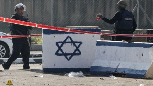Cisjordanie: attaque à la voiture bélier, l'assaillant palestinien tué