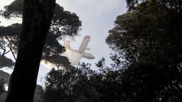 Ancora incendi in Calabria
