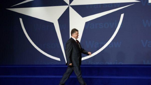 Kiev et Tbilissi veulent oeuvrer ensemble pour rejoindre Otan et UE