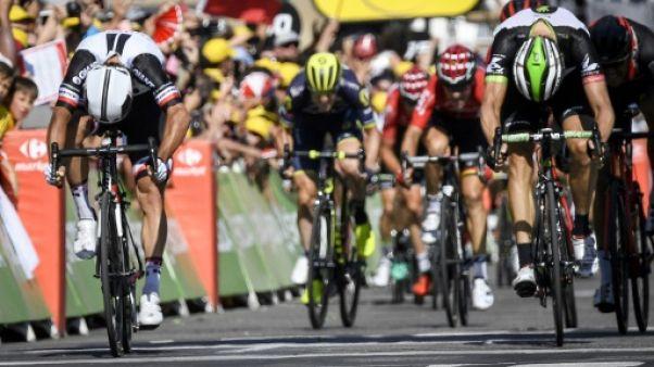 Tour de France: Matthews sprinte avant les Alpes