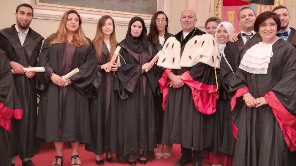 Nove studenti Maghreb laureati a Sassari