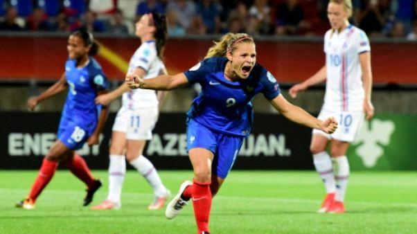 Euro: les Bleues arrachent la victoire contre l'Islande